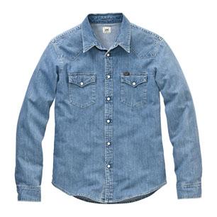 Lee Western Shirt Light Stone d645ccf329557